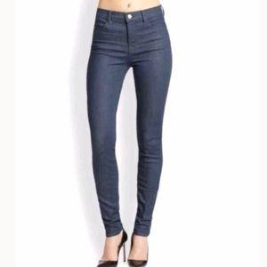 J Brand Super Skinny Serpentine Indigo Jeans 29